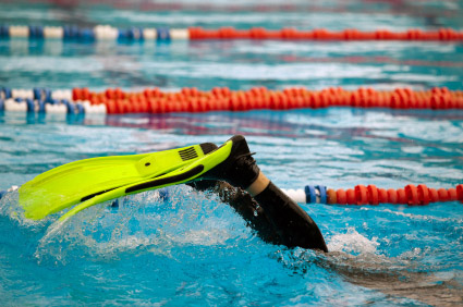 Swim Fins Benefit Swimmers